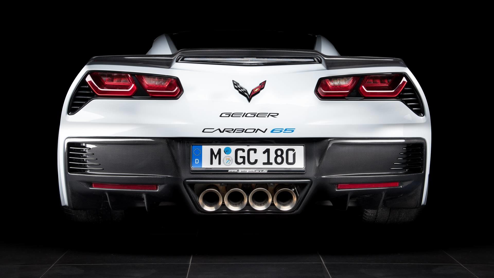 Foto de Corvette Z06 Geiger Carbon 65 Edition (4/15)