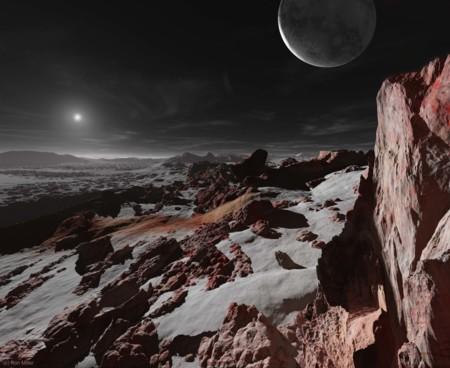 09 Sun Seen From Pluto