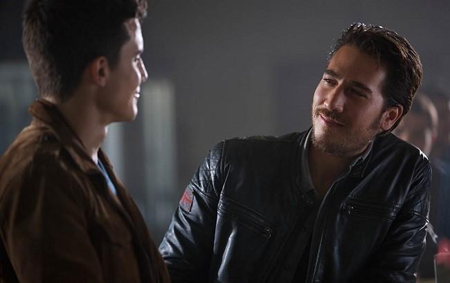 Alex González y Alberto Ammann en 'Combustión'