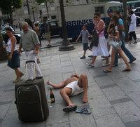 Británicos: turistas descontrolados