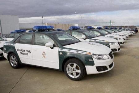Estos son los nuevos SEAT Exeo de la Guardia Civil