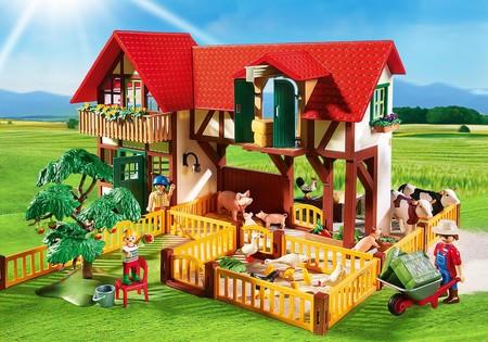 Granja de Playmobil, con establos y animales, por 68,79 euros y envío gratis