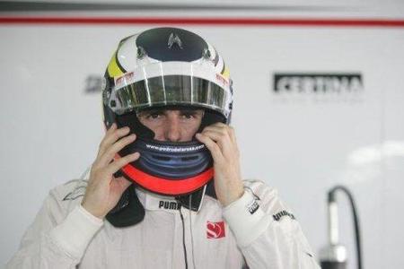 Pedro de la Rosa con problemas en Sauber