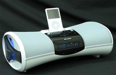 Sharp DK-A10H, dock para el iPod