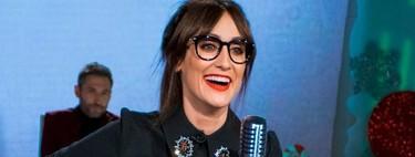 Ana Morgade, la miope con gafas sin cristales que presume de embarazo sin casi barriga