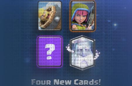 Arquero sigiloso, Fantasma y Barril bárbaro. ¿Son estas las nuevas cartas de Clash Royale?
