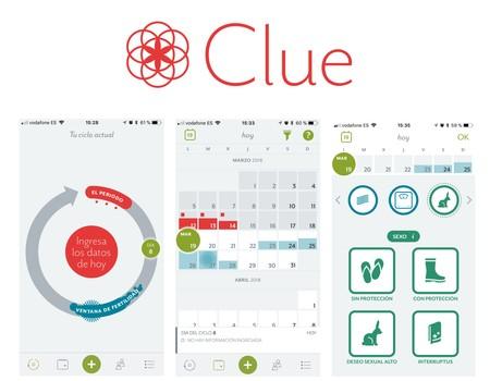 Clue: una app para registrar tu ciclo mentrual desde tu móvil