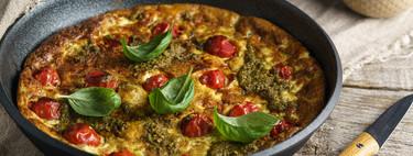 Siete recetas de frittata, fáciles, rápidas e irresistibles, para el picoteo del finde