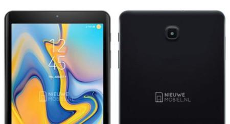 La Samsung Galaxy Tab A 8.0 (2018), filtrada: sin botón de inicio y marcos ligeramente reducidos