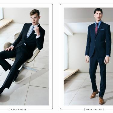 Primark actualiza el traje de temporada apostando a la elegante gama de azules
