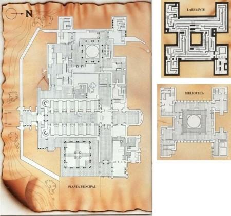 Mapas de la Abadía
