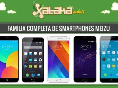 Así queda el catálogo completo de smartphones Meizu