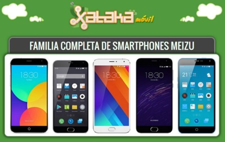 Así queda el catálogo completo de smartphones Meizu tras la llegada del PRO 5