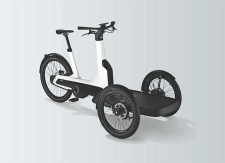 Esta nueva bicicleta eléctrica de Volkswagen está ideada para llevar cargas de hasta 210 kilogramos con cero emisiones