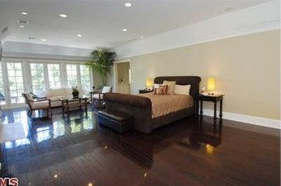 El dormitorio de David Hasselhoff.