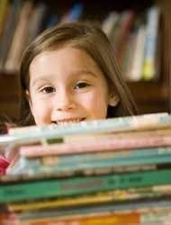 Su primera biblioteca