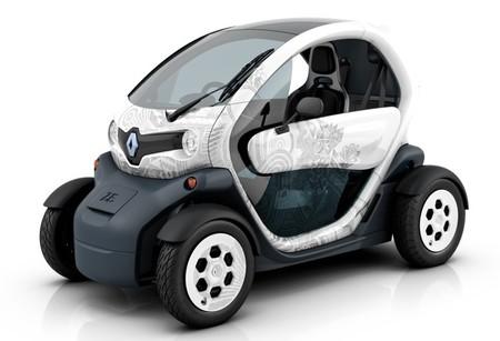 Renault Twizy blanco