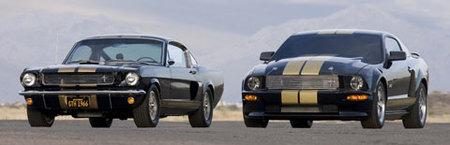 Los Shelby Mustang GT-H de Hertz a subasta