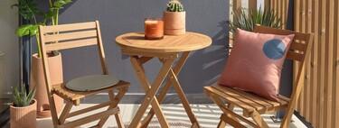 Los mejores conjuntos de mesita y sillas para balcones pequeños