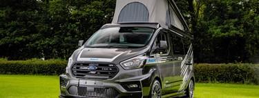 Esta Ford Transit es la furgoneta camper más cañera, y su dueño se ha gastado 86.000 euros
