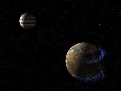 Ganímedes posee un gran océano de agua salada bajo su superficie