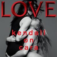 Cara y Kendall, un tándem que pasa del desfile de Chanel a la portada de LOVE