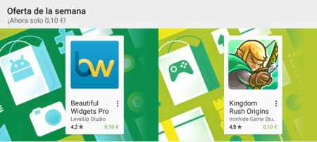 Oferta de la semana en Google Play: Beautiful Widgets Pro y Kingdom Rush Origins rebajados a 0,10 €