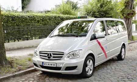Mercedes Viano, el taxi más grande, con 7/8 plazas