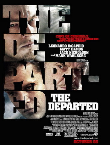 Póster de 'The Departed' de Martin Scorsese