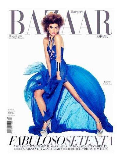Bambi, portada de Harper's Bazaar España