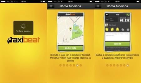 Taxibeat, servicio de taxis desde tu smartphone