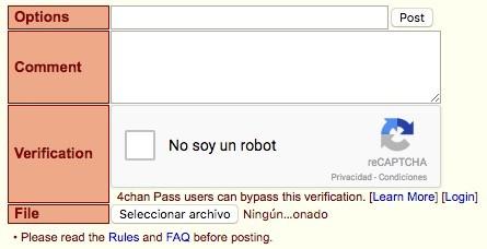 Publicar 4chan