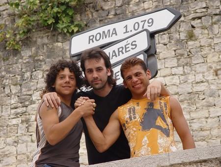 Isaki Lacuesta con Isra y Cheito