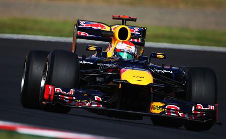 Red Bull a la altura de McLaren con Sebastian Vettel en cabeza