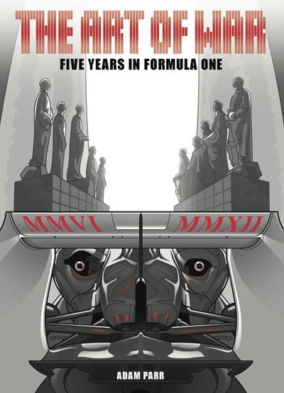 Adam Parr nos cuenta sus 5 años en la Fórmula 1 a través de un comic