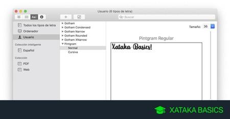 Cómo ver las fuentes tipográficas instaladas en macOS, cómo añadir nuevas o eliminarlas