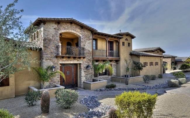 Una casa estilo espa ol mediterr neo en phoenix - Casas del mediterraneo valencia ...