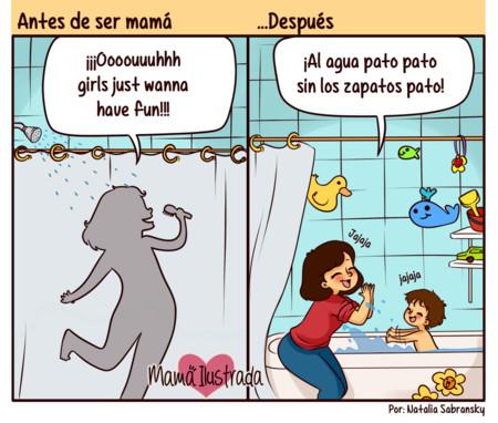 Las 20 graciosas ilustraciones de una madre que narran el