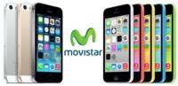 Precios iPhone 5S y iPhone 5C con Movistar