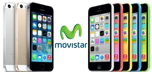 IPhone 5S and 5 C with Movistar IPhone Prices