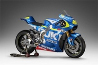 El Suzuki Ecstar listo para volver a su andadura en MotoGP