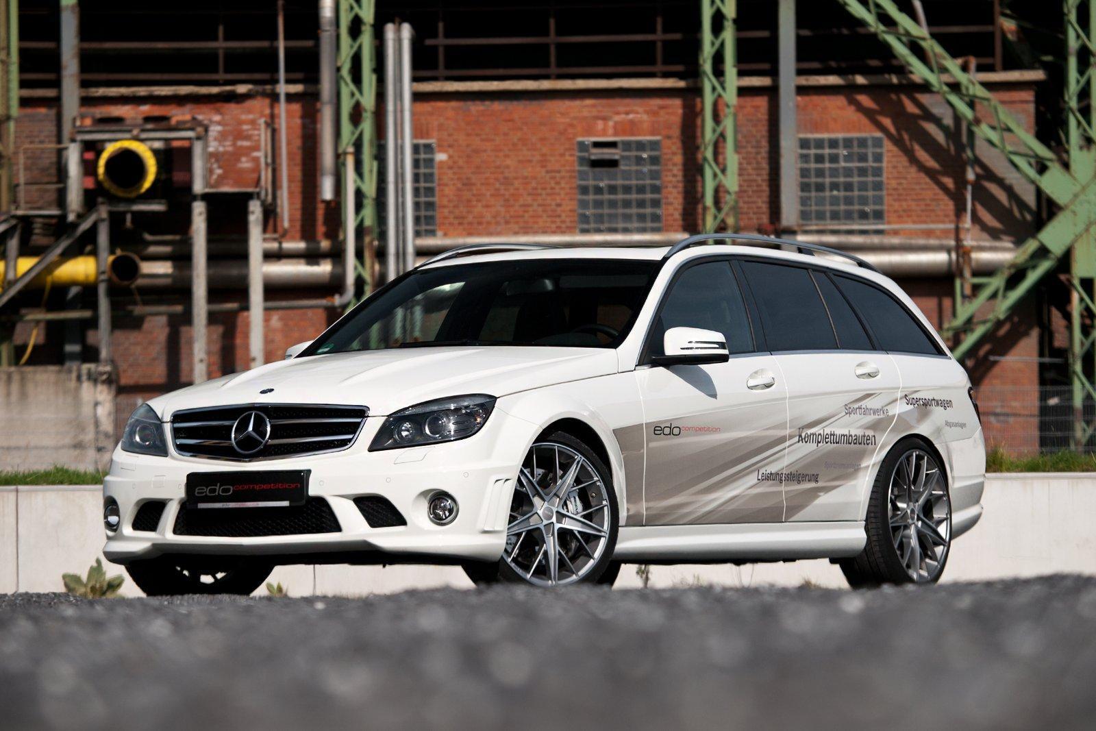 Foto de Mercedes C63 AMG Wagon por Edo Competition (1/16)