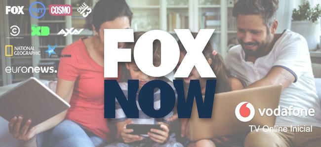 Vodafone TV añade en exclusiva el servicio de streaming FOXNOW y abre canales por Navidad