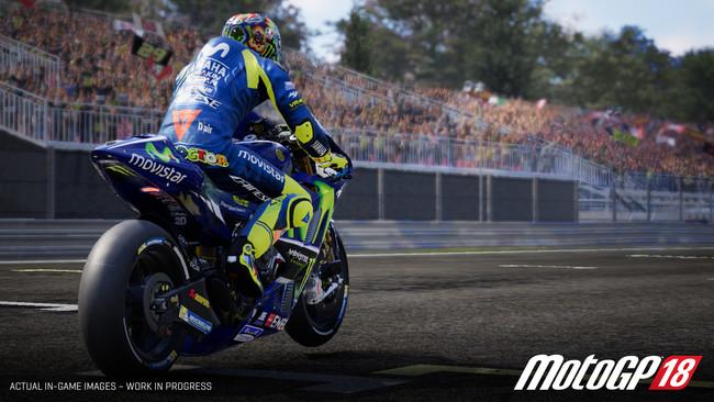 MotoGP 18 luce espectacular en su primer gameplay