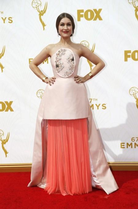Joanna Newsom Delpozo Emmys 2015 2