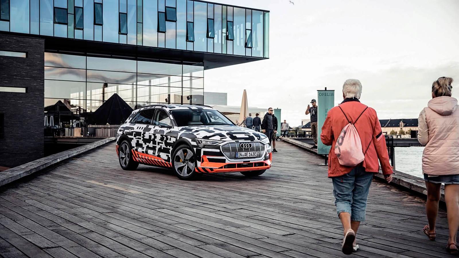 Foto de El habitáculo del Audi e-tron, al descubierto (17/19)