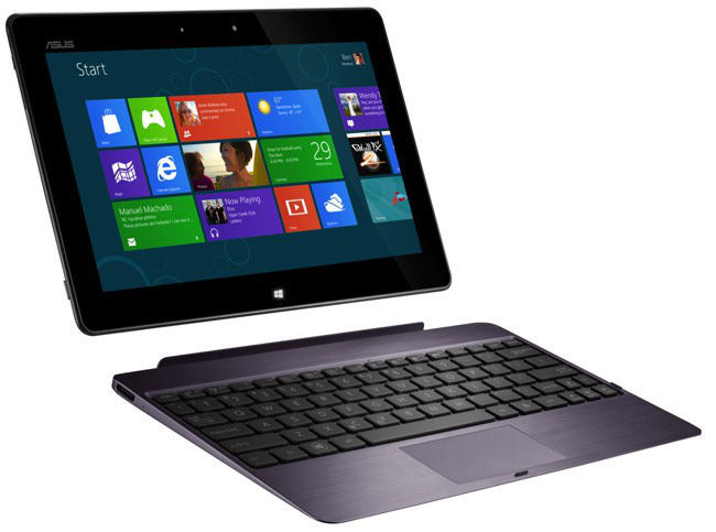 Tablet ASUS 600 con Windows RT