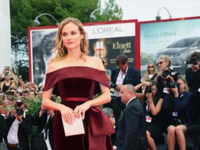 Festival de Venecia: la elegancia lleva el nombre de Diane Kruger