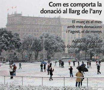 Hay que participar en los maratones de donación de sangre de Cataluña