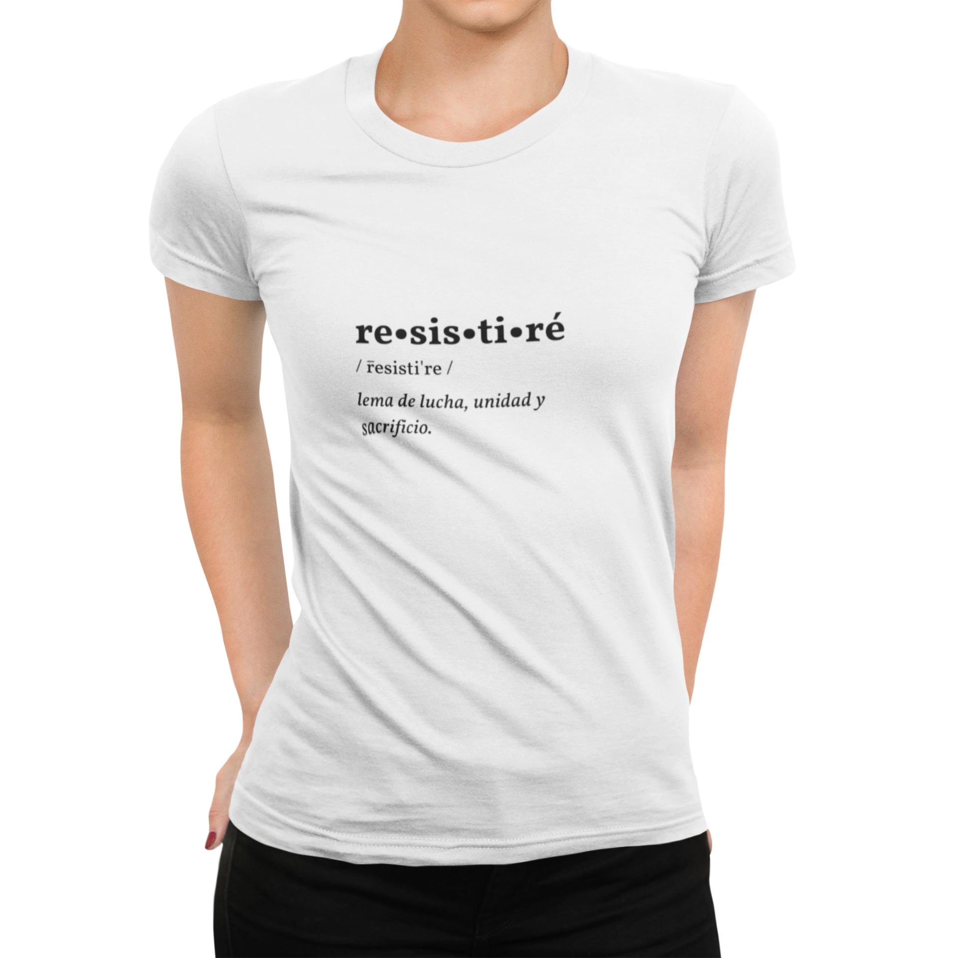 Pandemia De Valores RESISTIRÉ camiseta Camisetas